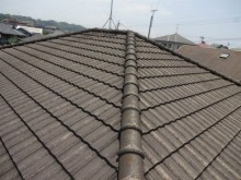 鹿児島市屋根調査の様子