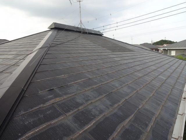 屋根の腐蝕部分 様子