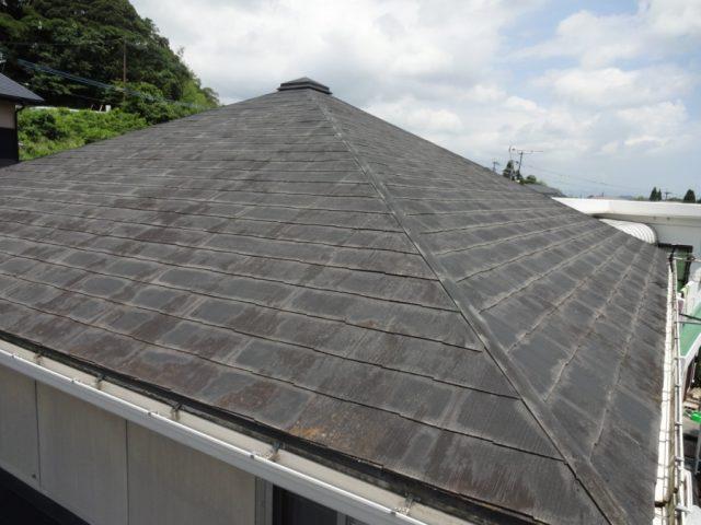 2階部分スレート屋根