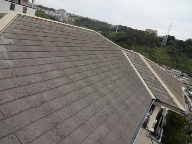 スレート屋根 南面