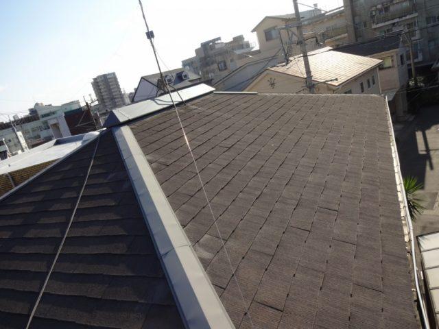 鹿児島市 屋根の調査棟の様子