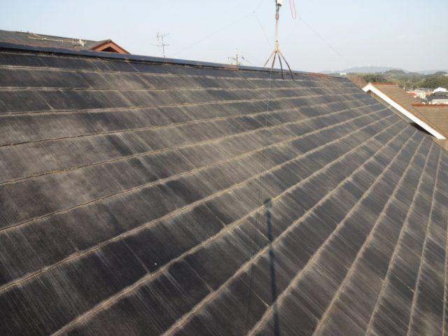 鹿児島市スレート屋根の様子