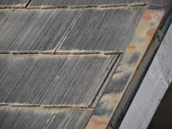 スレート屋根板金の錆