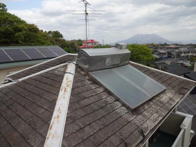 コロニアル屋根の劣化の様子