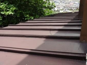 屋根板金の様子
