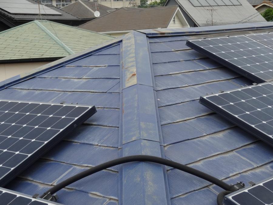 鹿児島市屋根の板金の錆