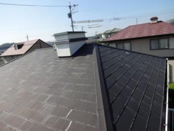 コロニアル屋根の劣化状況