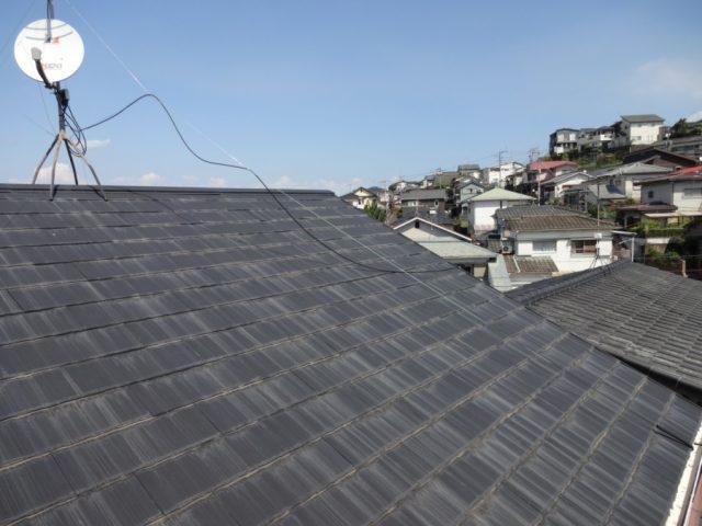 鹿児島市屋根の様子