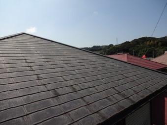 コロニアル屋根の様子