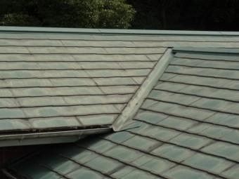 鹿児島市の屋根の様子